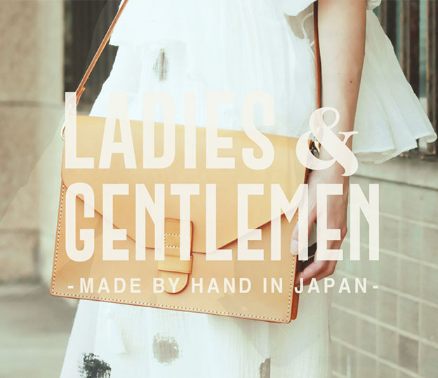 LADIES & GENTLEMENのWEBサイト